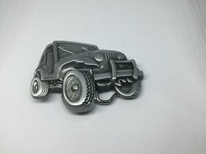 JEEP New BELT BUCKLE Metal Jeep Vehicle Shap