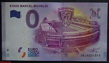 Billet touristique zero euro , Stade MARCEL-MICHELIN,  2016, neuf