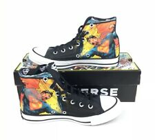 NEW Converse X DC Comics Chuck Taylor All Star Hi Superman Shoes Womens Size 7
