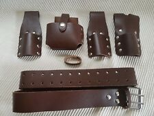Scaffolding Brown leather Tools Belt Professional Quality work 30-48''
