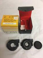 Rokunar Auxiliary Lens Set Telephoto & Wide Angle Lens for Nikon L35AF