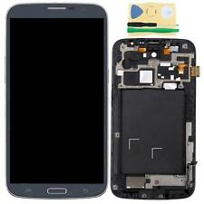 Blue LCD Screen Digitizer Assembly+Frame For Samsung Galaxy Mega 6.3 i9200 i527