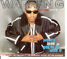 Warren G - What's Love Got To Do With It, CD-Single
