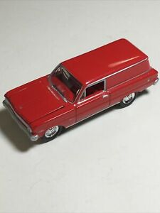 JOHNNY LIGHTNING 1:64 Loose 1965 Ford Falcon Delivery Van Wagon Nice Red