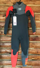 NWT Billabong Carbon Furnace Wetsuit 3/2 Comp Youth Size 12 $224.95