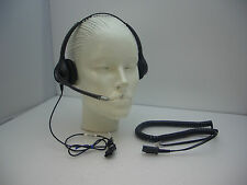 Plantronics SupraPlus HW261N-U10 Binaural Headset for 6921 6941 7961 8961 & 9951