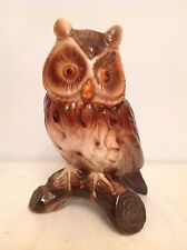 "Jema Holland owl large 6.5"" tall"