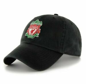 LIVERPOOL BLACK CREST CAP BIRTHDAY FATHERS DAY CHRISTMAS GIFT Anfield Football