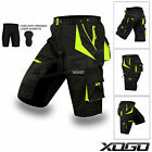MTB Cycling Short CoolMax Padded Bicycle Off Road Cycle Liner Shorts Bike Tights