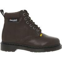 DR MARTENS Unisex 939 Dark Brown New Laredo/Extra Tough Nylon Boots UK 4 EU 37