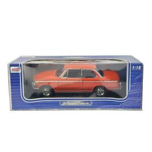 BMW 2002Tii Orange Anson Classic - 1:18 scale Collector Car Rare Hard To Find