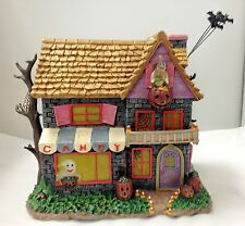 Hundred Acre Candy Shop - Poohs Hundred Acre Halloween Village Bradford Figurine