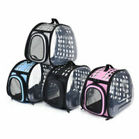 Travel Pet Bag Outdoors Puppy Dog Cat Carrier Bag Foldable Shoulder Bag Handbag