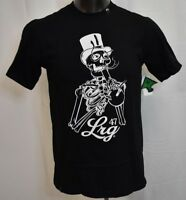 Lifted Research Group Mens 47 LRG Skeleton Reaps Shirt NWT S, M, L, XL, 2XL