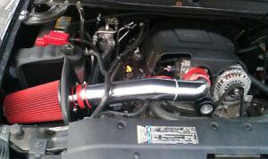 BCP RED 09-13 Cadillac Escalade 6.2L V8 Cold Air Intake Kit