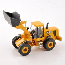 Yellow JCB 456 ZX Type Bulldozer Engineering Car 1:87 Diecast Vehicle Toy