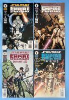 Star Wars Empire Strikes Back Infinities Dark Horse Comic Book Lot 1 2 3 4