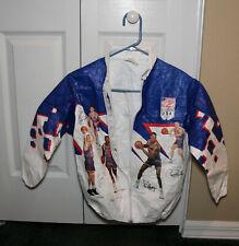 1992 Olympics Dream Team Tyvek  Kellogs NBA Jacket Youth SZ 26-28