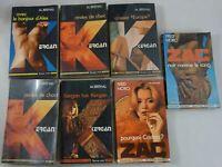 Lot de 6 romans KERGAN par BREHAL + ZAC - Fleuve Noir - Collection ESPIOMATIC
