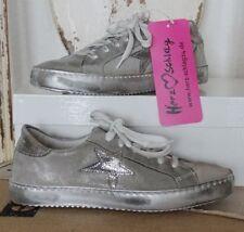 Damen-Turnschuhe & -Sneaker aus Echtleder mit Schnürsenkeln 41 Größe
