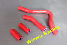 silicone radiator coolant hose Fit Honda CR250R CR 250 R 1992-1996 RED