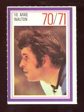 1970-71 ESSO POWER PLAYERS NHL #16 MIKE WALTON EX-NM PENGUINS UNUSED STAMP