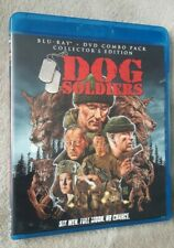 DOG SOLDIERS (2001) Scream Factory REGION A BLU RAY + DVD Combo. OOP. Horror
