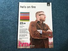 City And Colour Advertisement Poster - Kerrang!