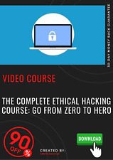 The Complete Ethical Hacking Course: Go From Zero To Hero video tutorial