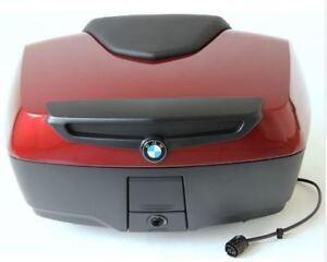 BMW top case in Vermillion red metallic for R1200RT, R1250RT, K1600GT, K1600GTL
