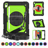 """Shockproof Case with Shoulder Strap For iPad Pro 11"""" 9.7"""" 6th 5th Gen Mini Air 2"""