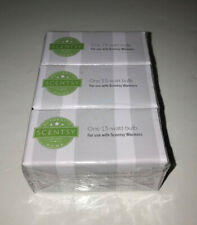 Pkg. of 3 SCENTSY 15watt Replacement Bulbs NEW