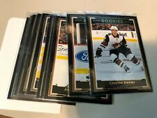 2017-18 OPC O-Pee-Chee GLOSSY ROOKIES BLACK card u pick/finish/complete your set