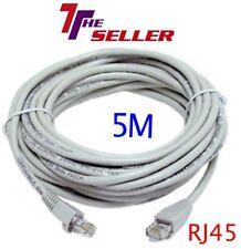Medidor de RJ45 5M Cable Ethernet CAT5e Red LAN Cable Plomo por internet para PS3/Xbox