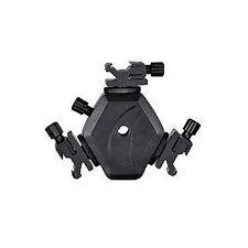 Tri Head flash adaptor 3 way for Speedlights strobists with umbrella holder