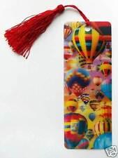3D Lesezeichen - wie schwebende Motive - Spezialeffekt - mit Kordel - Ballone `2
