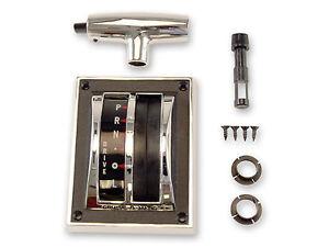 Mustang Shifter Handle & Bezel Kit 1967 1968 67 68 289 302 390 GTA Knob Surround