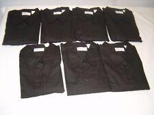 "7 Black ""Image First"" Womens Long Sleeve XLarge Dress Shirts - NEW!"