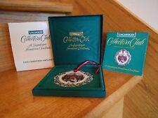Longaberger University Ornament Club 1996 Christmas great gift *free shipping!*