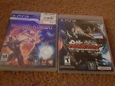Sony PS3 PS 3 PlayStation Game Lot -  Tekken Tag Tournament 2 AND Mortal Kombat