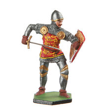 Tin Toy Soldier Medieval Knight with sword metal sculpture 54mm painted #11.02b
