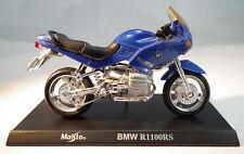 BMW R1100RS Motorrad Modell mit Standplatte im Maßstab 1:18 von Maisto
