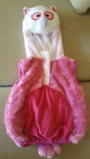 Hooded PINK HOOT Winter Top/Pillow(Rolled Up) Comfy & Soft Girl 3 -5yo
