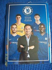 CHELSEA FOOTBALL CLUB OFFICIAL 2020 CALENDER SEALED