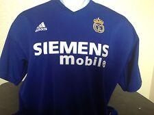 Vintage Real Madrid Soccer Jersey 2002 Beckham Adidas