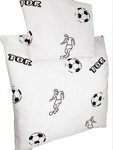 Baby Bed Linen 2 Pieces Cradle Cover 80x80 Pillowcase 35x45 Soccer Motif
