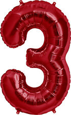 "34"" Number Foil Wedding Photo Shoot NewYears Birthday Graduations Balloons (1pc)"
