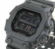 CASIO G-Shock GX56BB-1A All Matt Black Out Monotone LCD Solar X-Large !