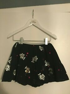 Stunning Navy Leaf Print Party Skirt - Joules - BNWT - RRP £32.95