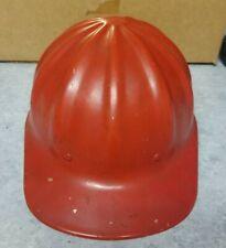 Vintage Superlite Aluminum Fibre-Metal Hard Hat Helmet with Liner 8 Rivet - Usa